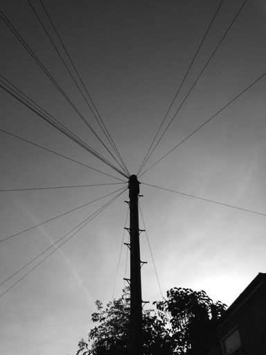 Telephone Wires (Cowley, Oxford, UK)